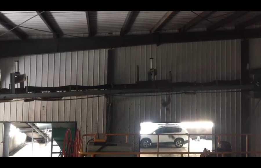 链板翻抛机自动进料出料系统视频